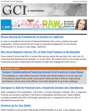 GCI E-newsletter