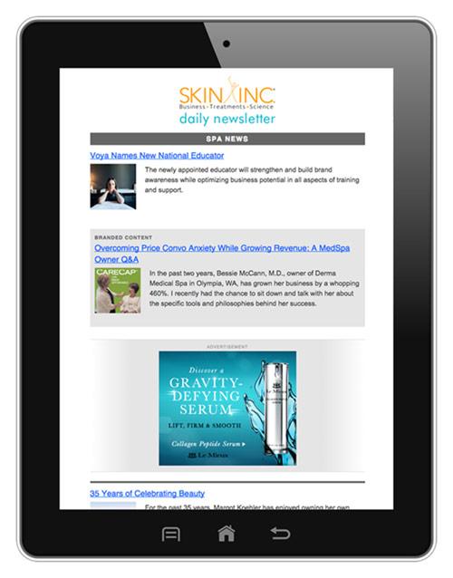 Skin Inc. Daily Newsletter